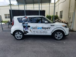custom car graphics and lettering