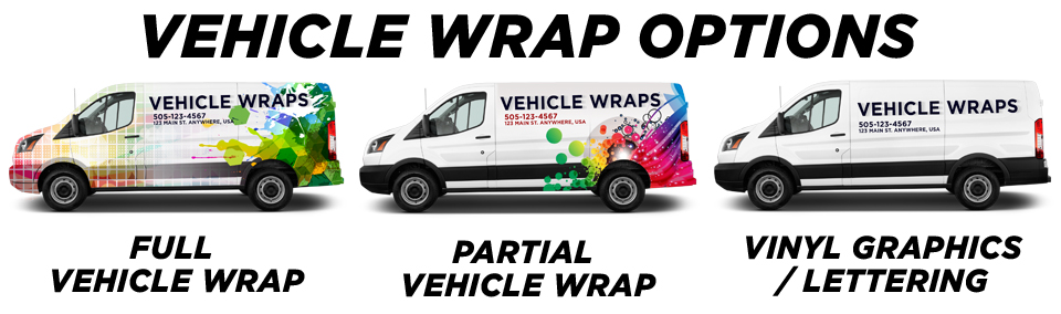 Dunedin Vehicle Wraps vehicle wrap options