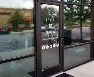 custom business door signs and graphics